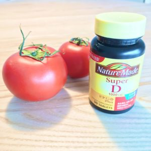 トマトとビタミンD