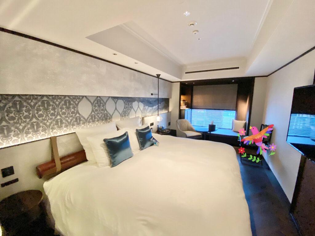 悠洛ホテルMギャラリー 客室内 キングルーム